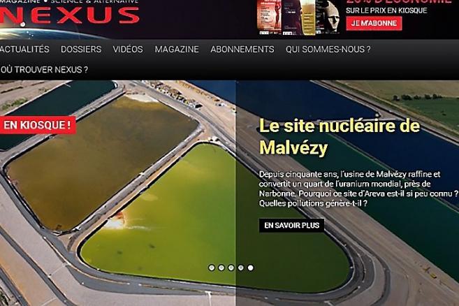 Narbonne : la plus grande poubelle nucléaire d'Europe NEXUS