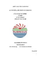 Rapport RUBRESUS Activités déchets rejets MalvésiVF
