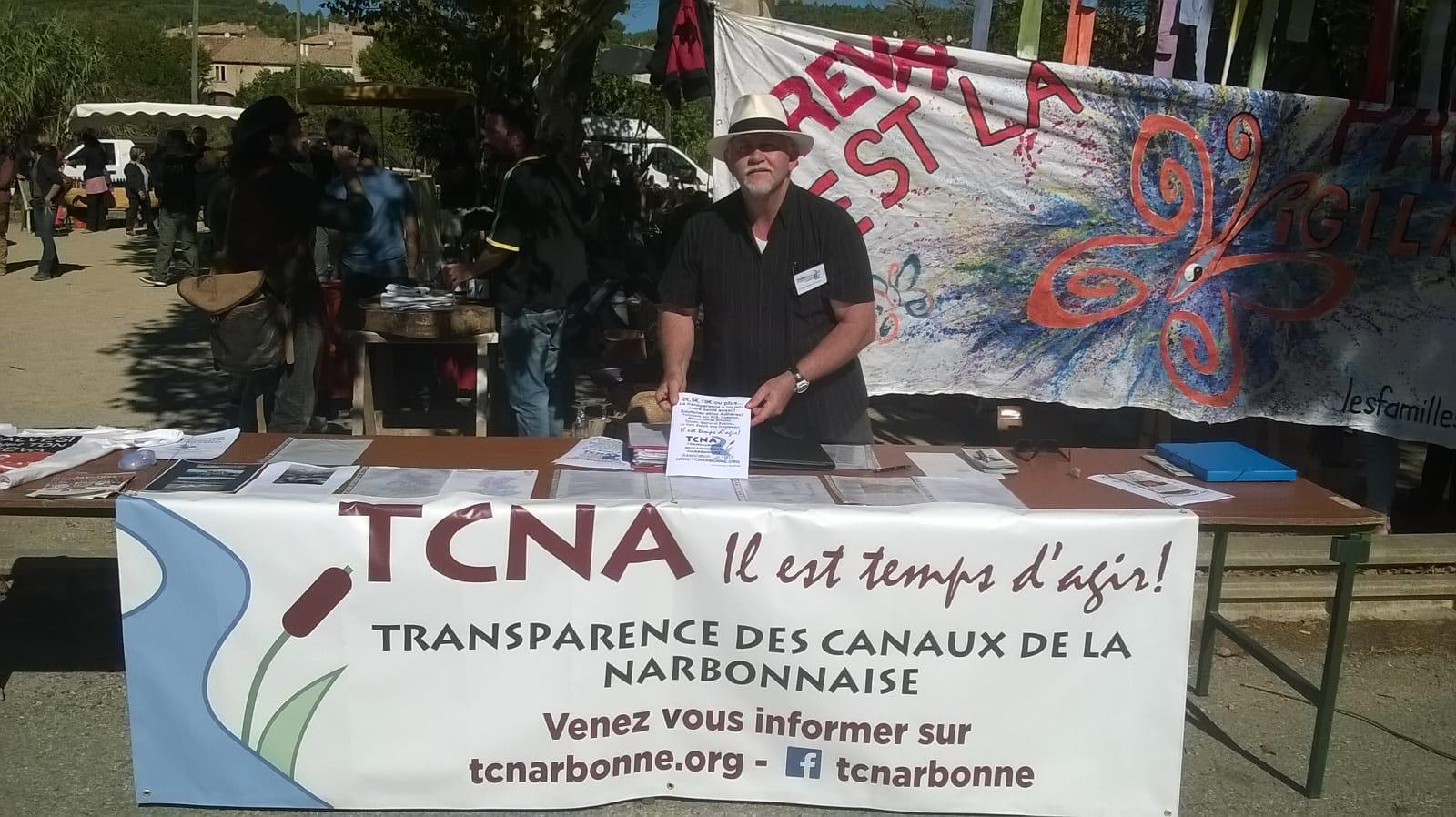 STAND TCNA A LA FÊTE PAYSANNE D'AZILLANET (34)