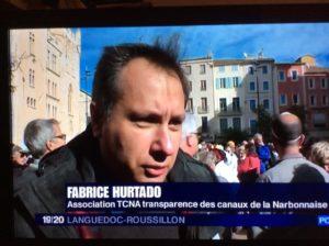Aude : 2000 personnes réunies contre un projet d'AREVA/ORANO à Narbonne.