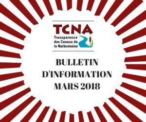 BULLETIN D'INFORMATION MARS 2018