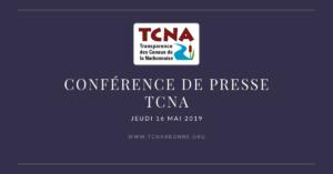 Conférence de Presse du Jeudi 16 Mai 2019
