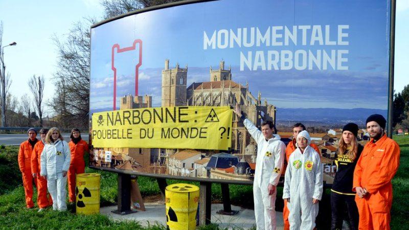 Narbonne : action éclair de Greenpeace aux portes de la ville