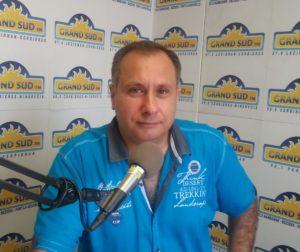 GRAND SUD FM Fabrice HURTADO, Président de TCNA ( Transparence des canaux de la Narbonnaise )