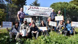 Narbonne : contre Orano, l'Atomik Tour rejoint TCNA