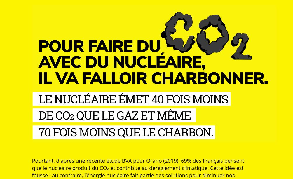 Le nucléaire, bon pour le climat ? Orano poursuivi pour « publicité mensongère »