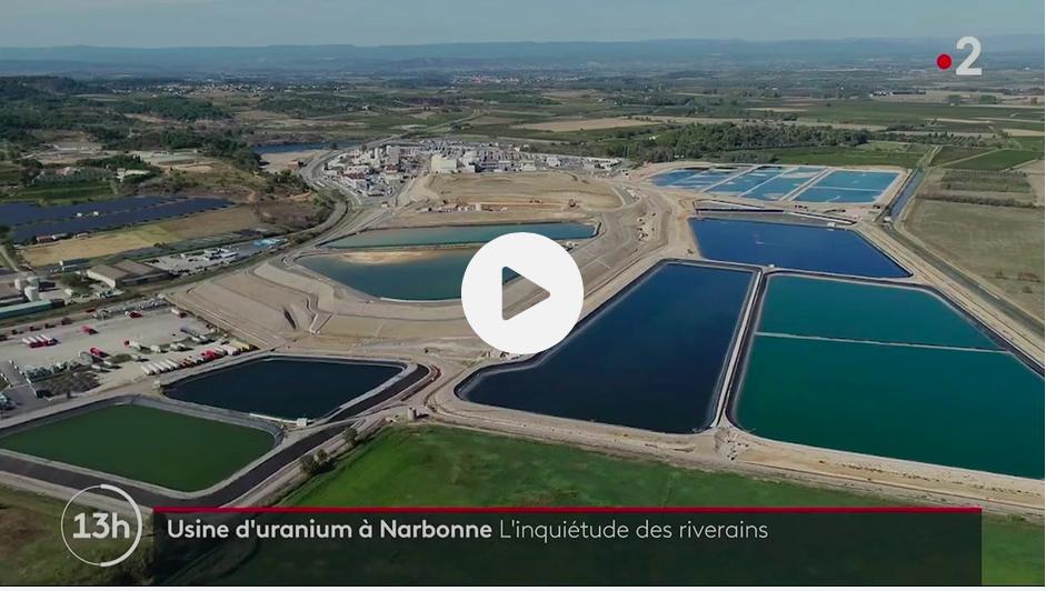 Narbonne : les riverains de l'usine d'uranium Orano Malvési inquiets des taux de radioactivité